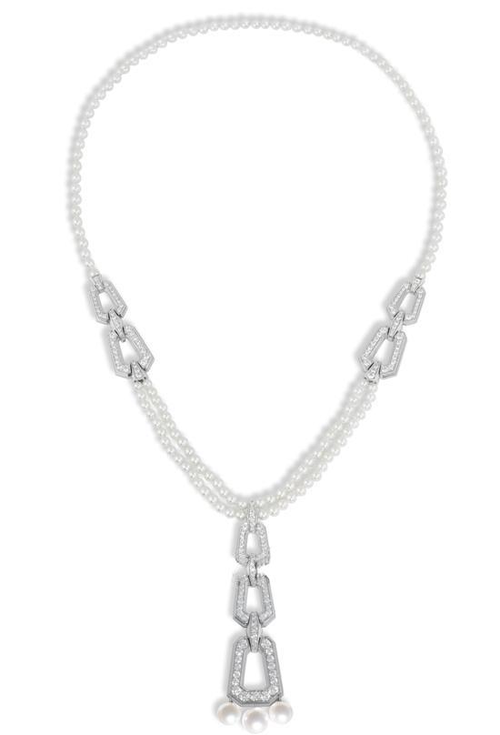 珠宝设计图手稿项链