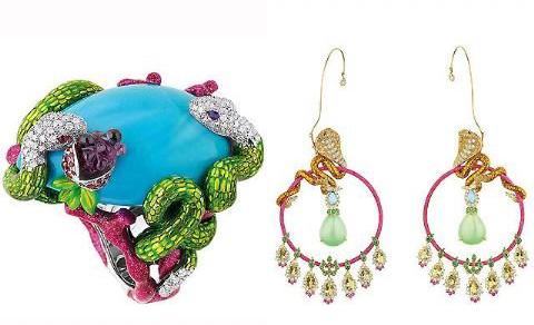 动物时装珠宝