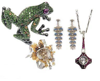 欧洲皇室贵族气质的珠宝