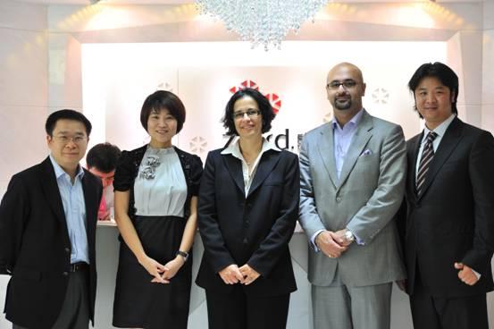 DTC总裁亲临视察钻石小鸟上海体验中心