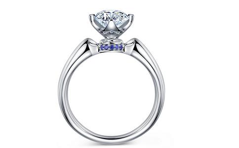 蓝宝石戒指款式知多少