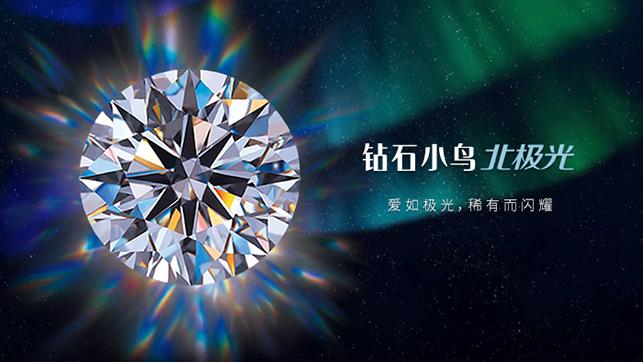 北极光圆形钻石